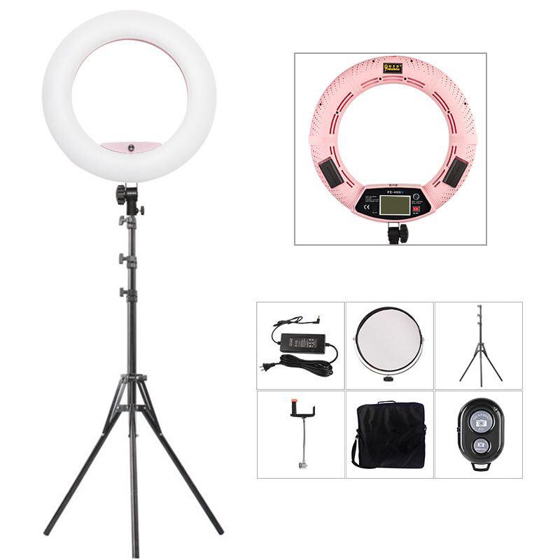 кольцевая лампа для фотосъемки известен как