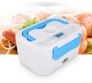 METIS 12V 40W 50HZ easy carry cheap electric heating time lock warmer lunch box