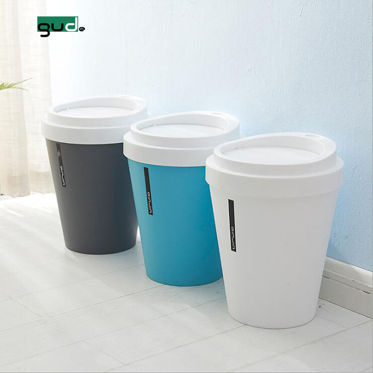 China suppliers wholesale mini office desktop coffee cup trash can