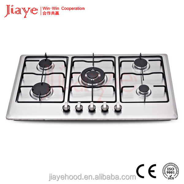 5 burners built in gas hob Electric furnaces ,High quality kitchen appliance cooktops JY-S5084