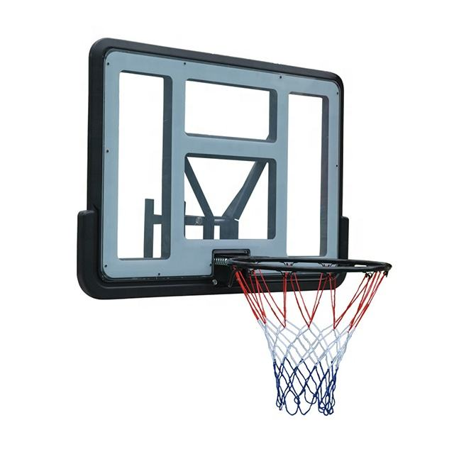 Punch-Gratis kinderen Basketbal Hoepel Wall Mount Indoor Schieten Basketbal Hoepel En Bord Netto