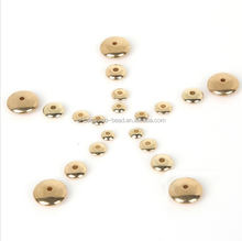 CCB beads spacer flat disc metal beads