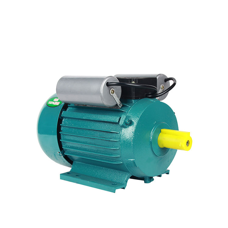 Shanghai Yl8024 Yl90L 4 Yl90S-2 Yl90L-4 0.5Hp 3Hp 5.5Hp 0.37Kw 1Kw 110V 220V 240V Single Phase Electric Ac Induction Motor