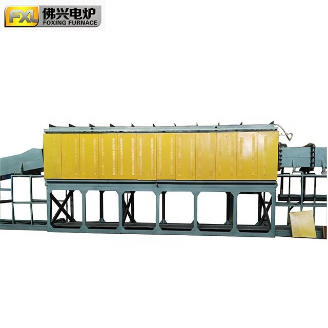 Gas Protective Annealing Steel Wire Mesh Belt Furnace Machine For Making Screws