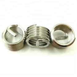 Helical Screw Wire Thread Inserts for Thread Repair