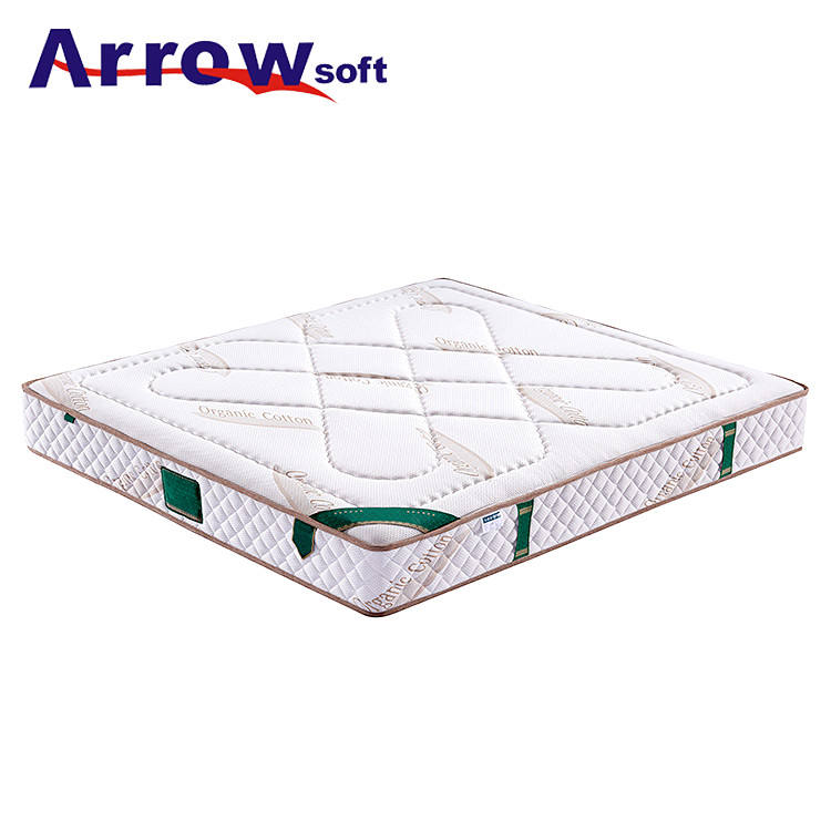 The best china factory soft coir convoluted compressed foam mattress