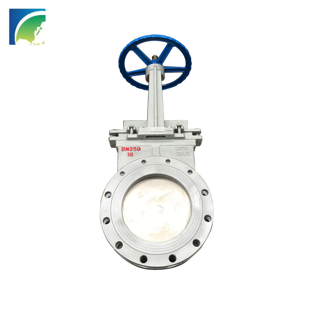 Gate [ Pvc Valve ] Valve Factory Cast Steel PVC Plastic Seated Leaking Proof Knife Gate Valve With Ceramic Plate