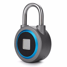 Waterproof Keyless Fingerprint Electronic Padlock with Bluetooth APP