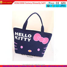 newest durable tote bag pattern with hello kitty wholesale