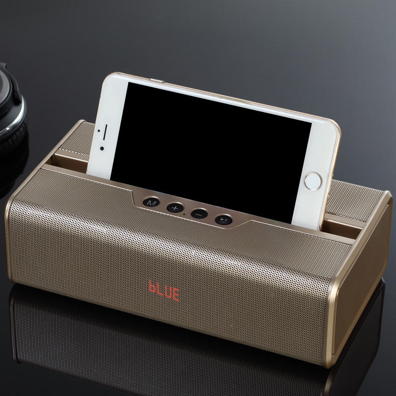 Top Quality High Sound 10W Loud Thunder Ceil Phone Stand Holder Bluetooth Speaker