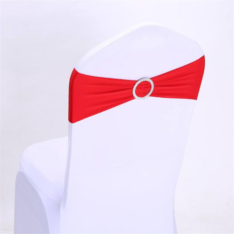 Banquet chair covers and sashes red chair sashes