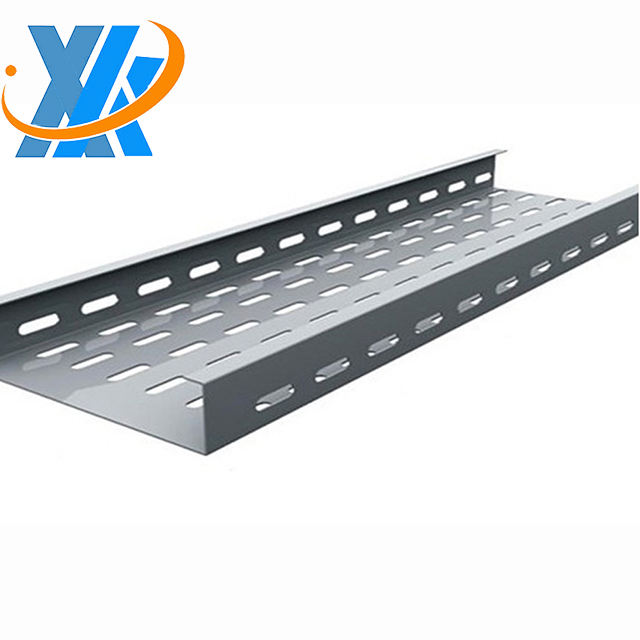 Shanghai GI cable punching tray with trunking cover and accessories