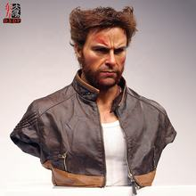 Famous Personal Wolverine Lifesize Resin Bust Statue for Sale
