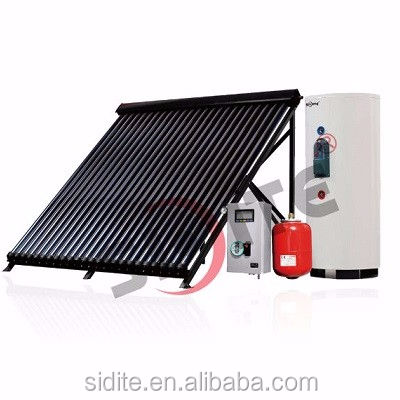 split pressured copper coil solar water heater 500 liter spare parts solar water heater system