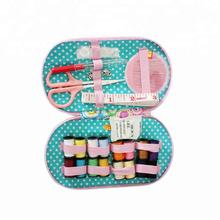 Home Promotional Gift Pins Mini Small WholesaleTravel Sewing kit set box Mini Hotel for sale