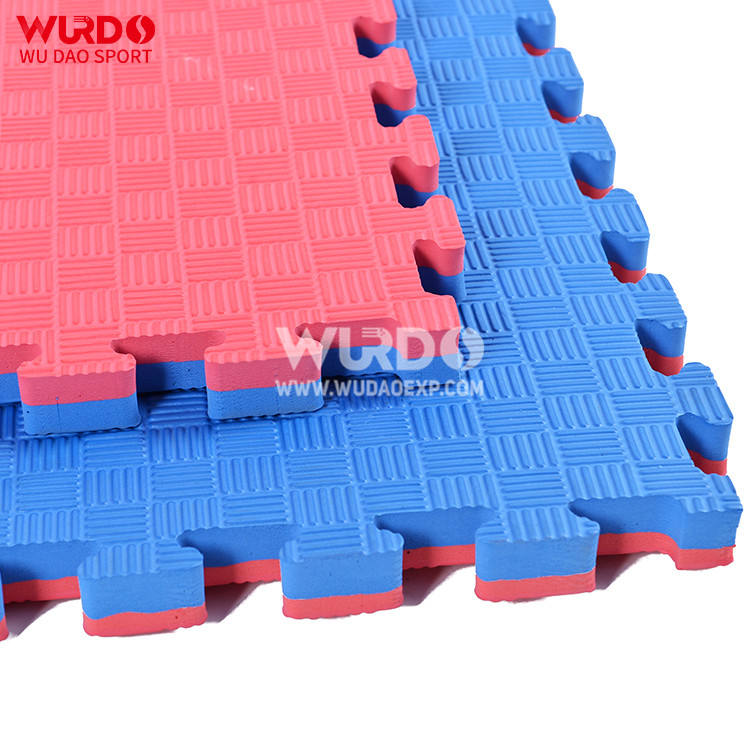 WTF Approved 2cm EVA interlocking foam floor Training Taekwondo Mat