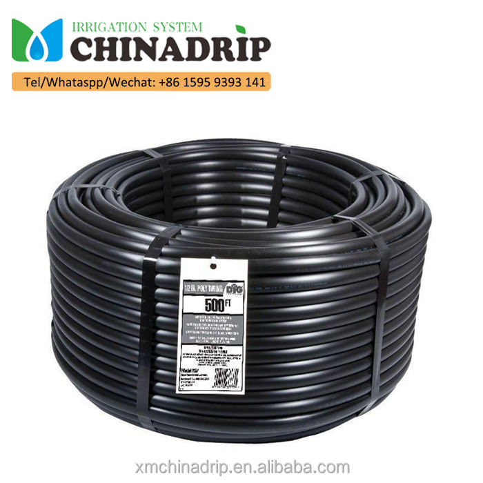 Polyethylene Poly Soft Pipe For Greenhouse Irrigation Systems