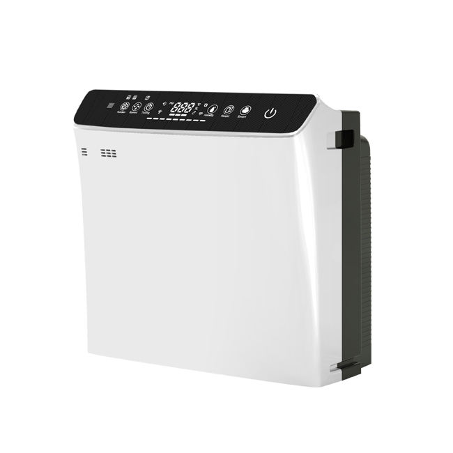Newest multi-function hepa air purifier with ionizer and humidifier