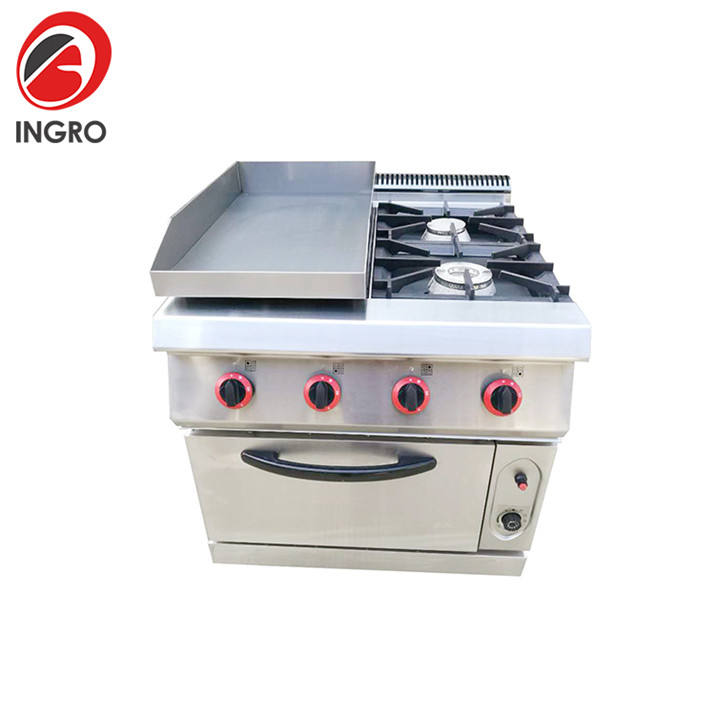 Hotel Commercial Corner Gas Stove/Heating With Gas Stove/Top Gas Ovens