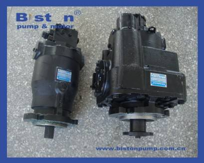 SAUER PV22 HYDRAULIC PISTON PUMP PV22 COMPLETE PUMP ASSY SAUER MF22 HYDRAULIC PISTON MOTOR MF22 COMPLETE MOTOR ASSY