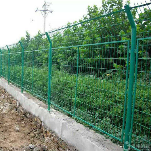 3d curved garden 1x1 galvanized welded wire mesh for fence panel