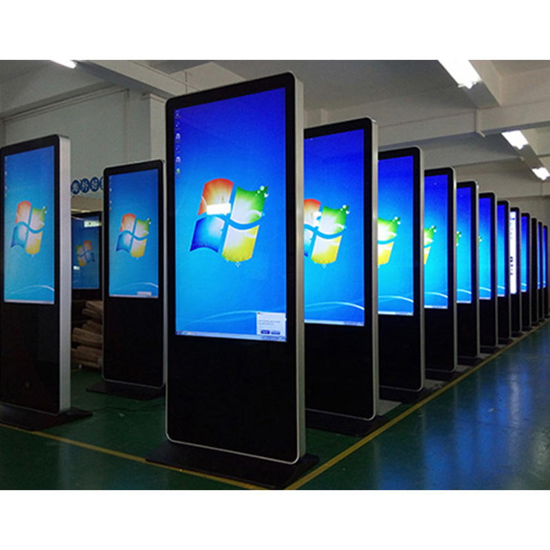 Floor Stand multi point touchscreen ad. Digital signage maleisië