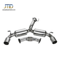 "JTEC-006 HIGH QUALITY PERFORMANCE 4.5"" TIP DUAL MUFFLER CATBACK EXHAUST SYSTEM FOR MR2 MR-2 TURBO W20 EXHAUST HEADER"