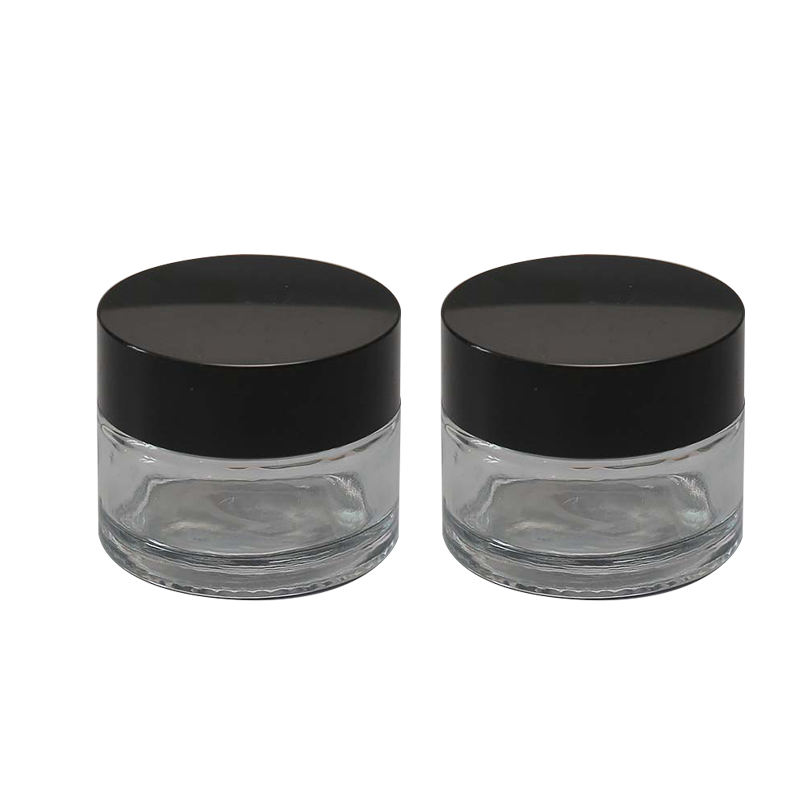Promotional Fashionable 50ml Small Glass Jars with Best Service and Low Price