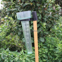 PS+ABS transport Garden Plastic rain gauge