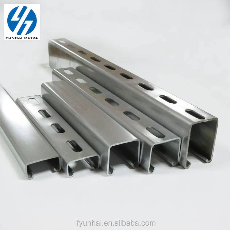 hot dip galvanized u shape channel bar