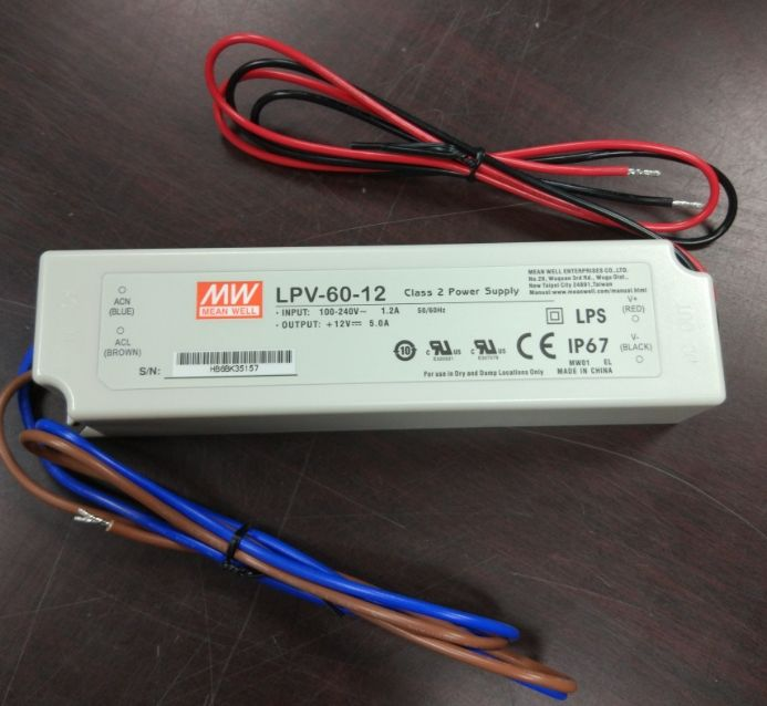 Meanwell Power Supply 48 V 20A 1000 W Single Output LED Daya Driver RCP-1000-48