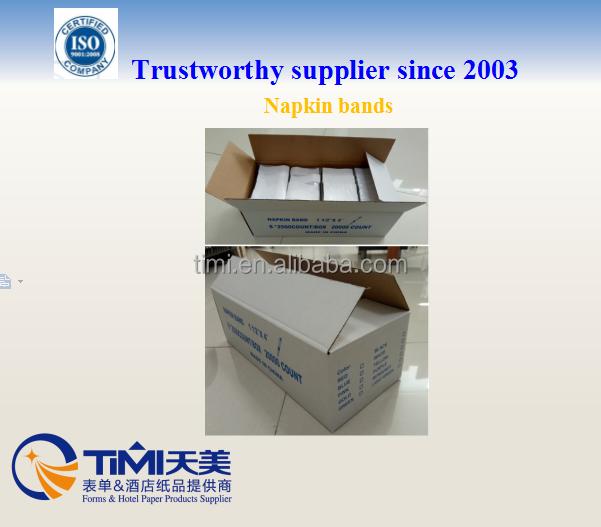 Салфетки групп 1.5*4.25 ''для ресторана использование произведены timi от Шанхай