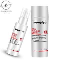 Hair fiber Styling/holding Spray for hair loss treatment OEM private label Keratin Hair Fiber powder