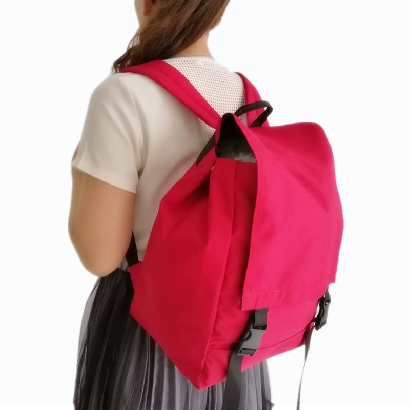Hot Sales Inside Zipper Pockets Delivery Books 600D Nylon School Bag With Shoulder Strap