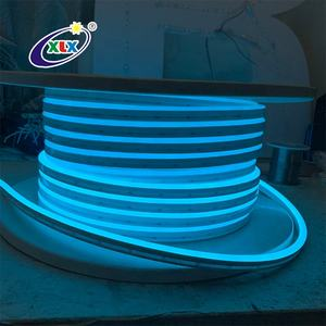 5mm 12v/24v slim monocolor logo sign ice blue led silicone neon flex