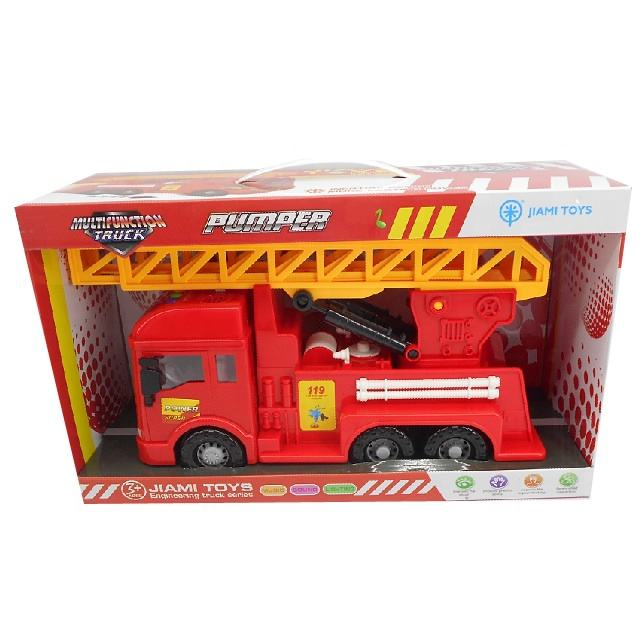 Plastic friction truck/friction car with light and music for kids!