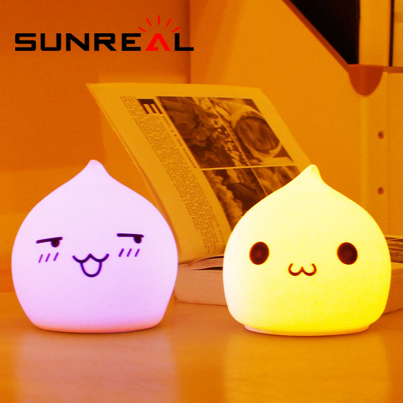 Creative touch Small Desk lamp LED Silicone Night Light/usb led light lamps