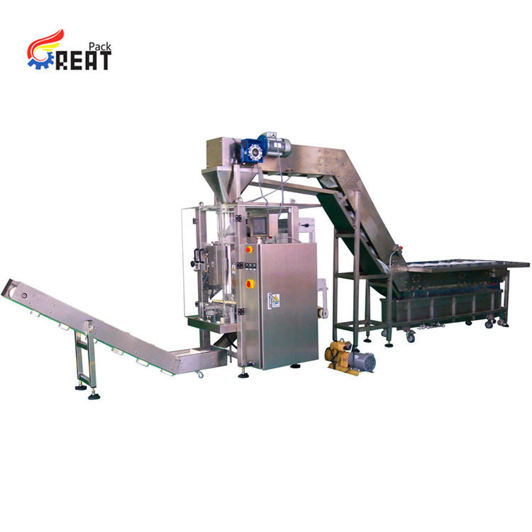 Great Pack fully automated chicken meat packing machine