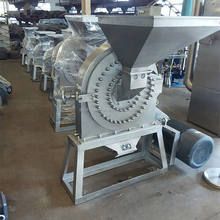 Stainless steel small flour grain milling machine,wheat flour mill