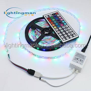 Flexibele Smd Led Strip 3528 60d Rgb Side Emitting Led Ketting