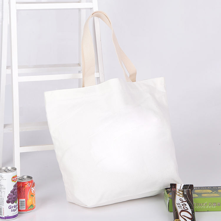 Fashion [ Bag ] Cotton Bag Custom Cotton Canvas Shopping Fashion Handbag Tote Eco Bag
