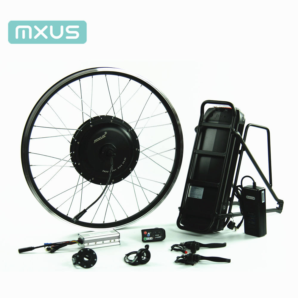 48v 500w high quality electric bicycle motor kit brushless rear wheel of electric conversion kit