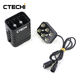 CTECHi rechargeable customized 9000mAh 22.2V lipo Battery Pack Case USB 5v Output Mobile Phone