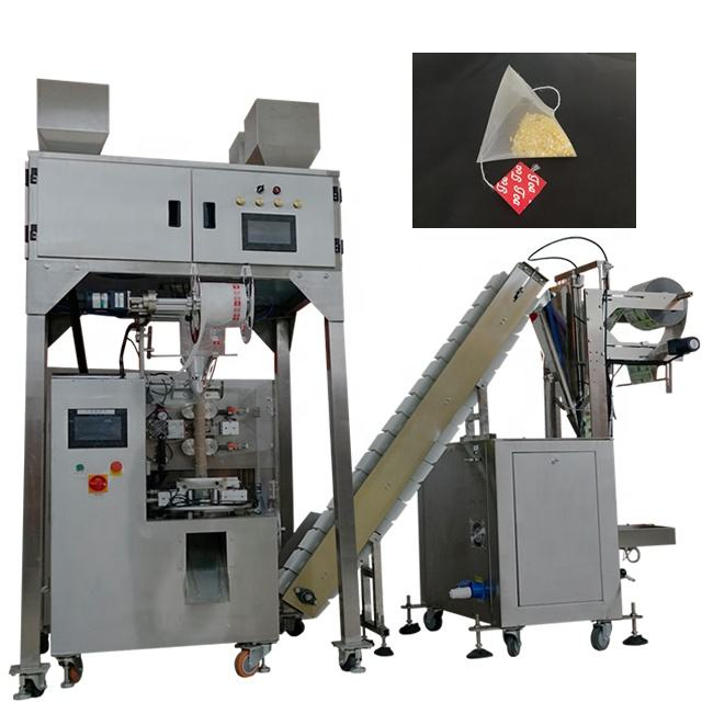 Nylon Triangle Tea Bag Packing Machine For All Kinds Of Herb Tea