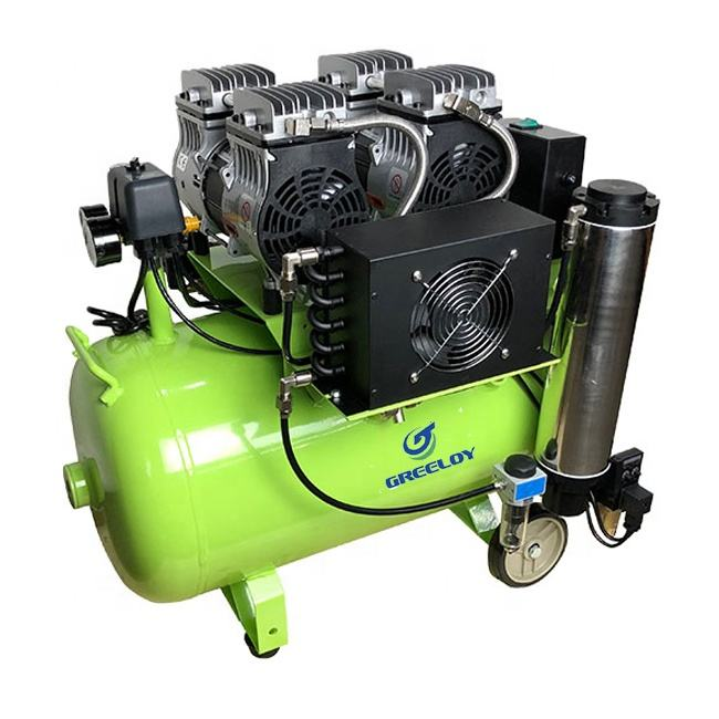 Compresor de aire/Silent Oil Free Dental Dryer Air Compressor In Spain