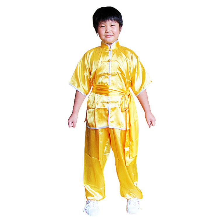 China traditionellen kurzarm kungfu uniform, wushu einheitliche