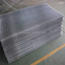 Galvanized welded wire mesh panel for livestock/bird cage