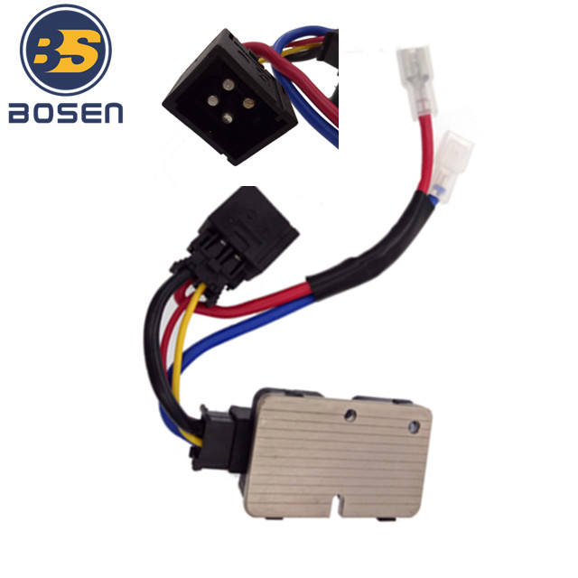 A//C Heater Blower Motor Resistor w//Lead Wire for Mercedes Benz CL S 1408218451