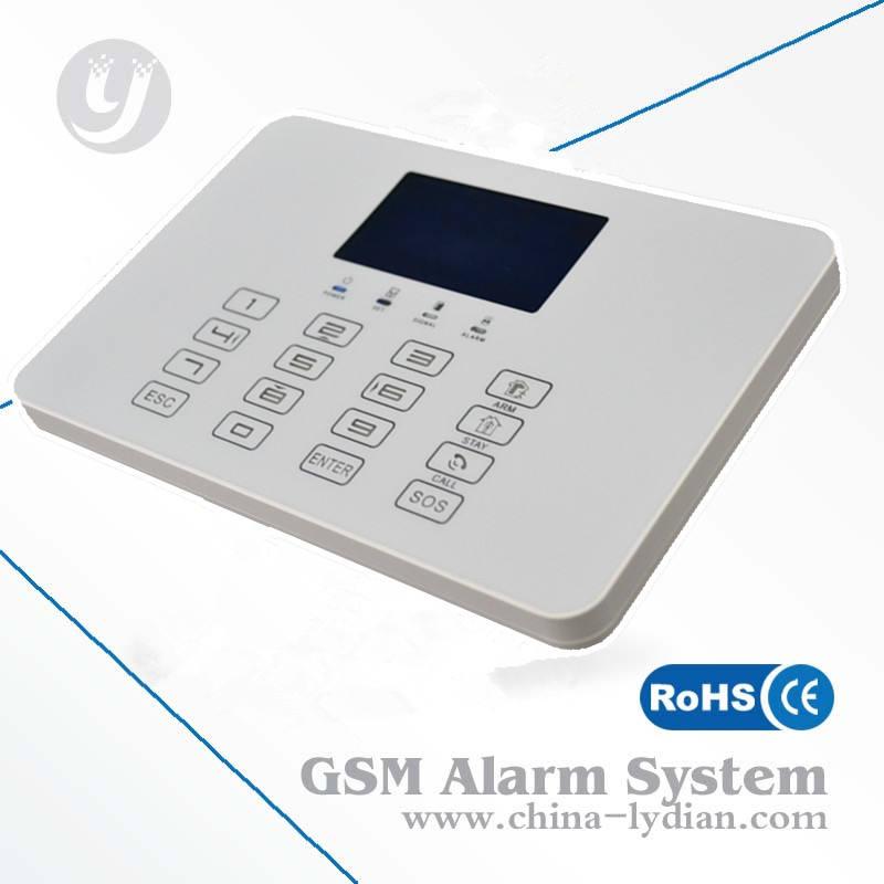 Система охранной сигнализации / GSM сигнализация беспроводной домашней охранной безопасности