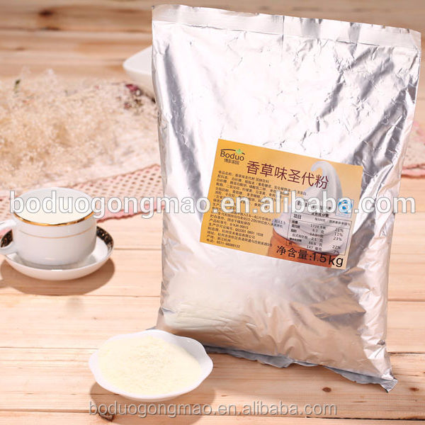 KFC use soft serve ice cream powder mix can be used with ice cream machine